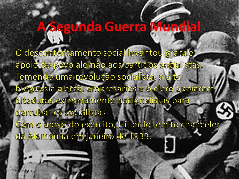 Nazismo A doutrina nazista promove uma série de alterações no regime alemão de agir.