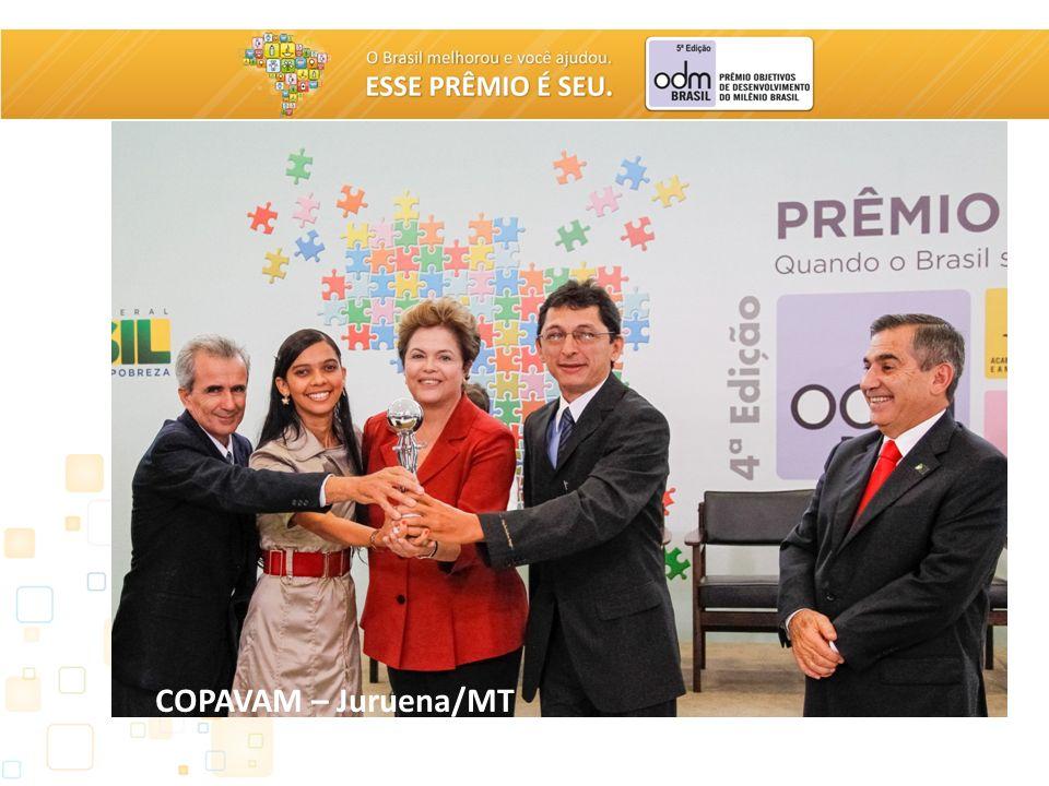 PRÊMIO ODM BRASIL – 5ª EDIÇÃO COPAVAM – Juruena/MT