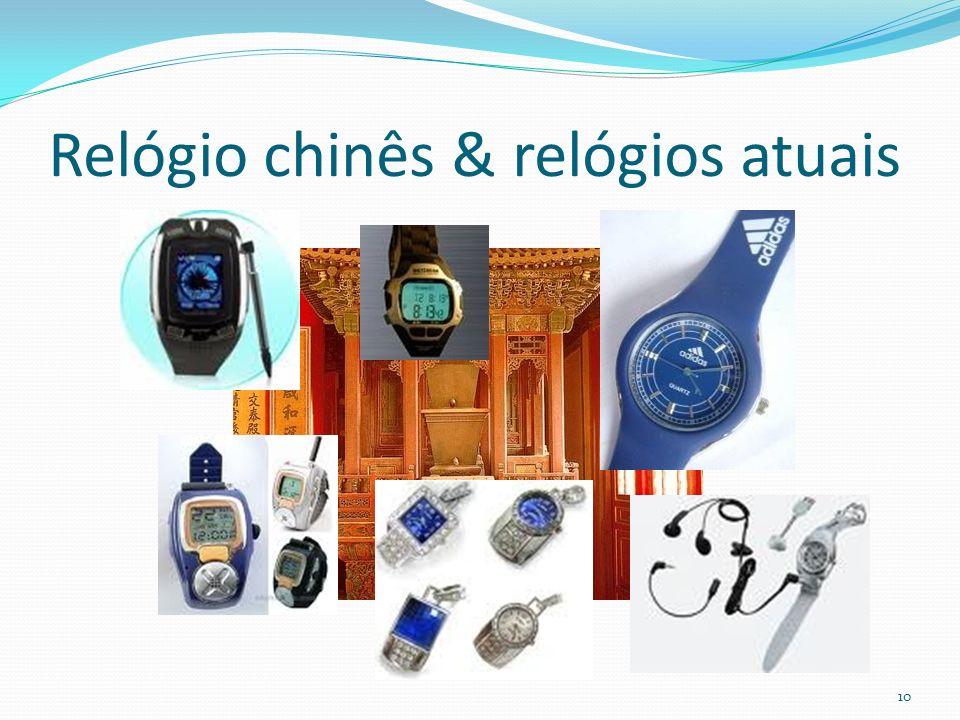 Relógio chinês & relógios atuais 10