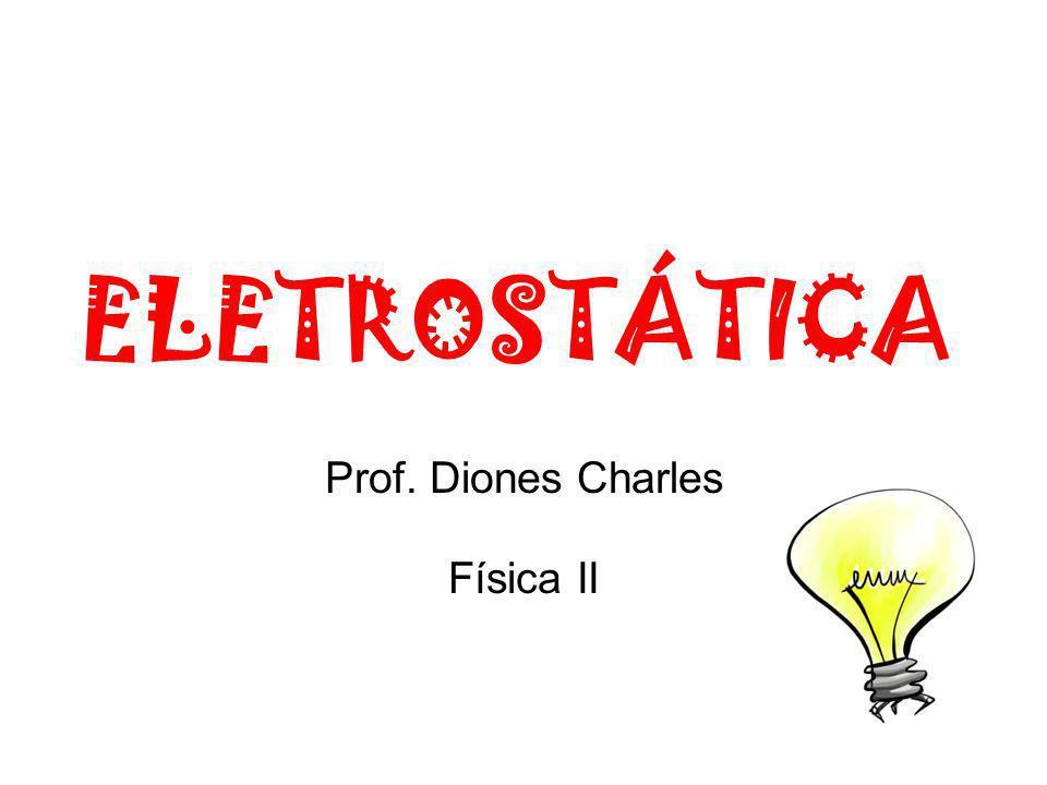ELETROSTÁTICA Prof. Diones Charles Física II