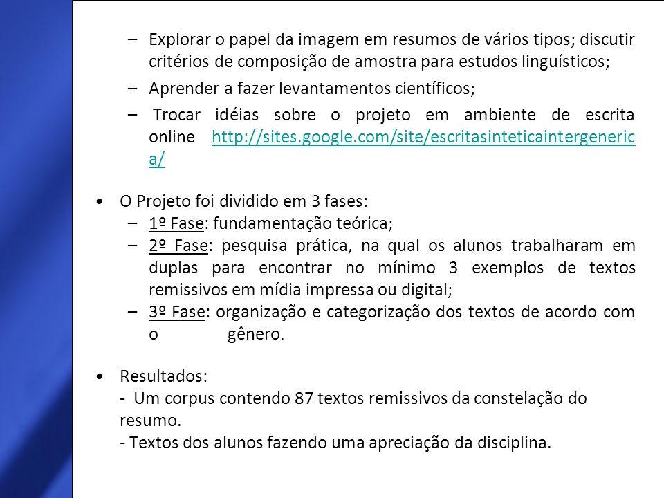 Exemplo de categorização Número do texto dentro da amostra: 1 Eduarda e Lia Texto número 2 Tipo: sinopse de filme (Dança com Lobos (filme), Editora NBO, 1990.180 min.son.