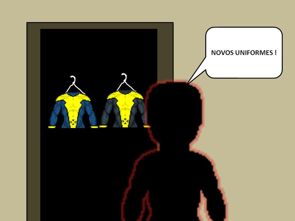 NOVOS UNIFORMES !