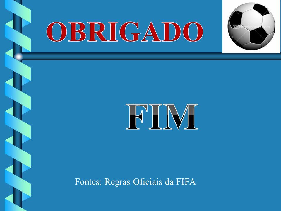 Fontes: Regras Oficiais da FIFA