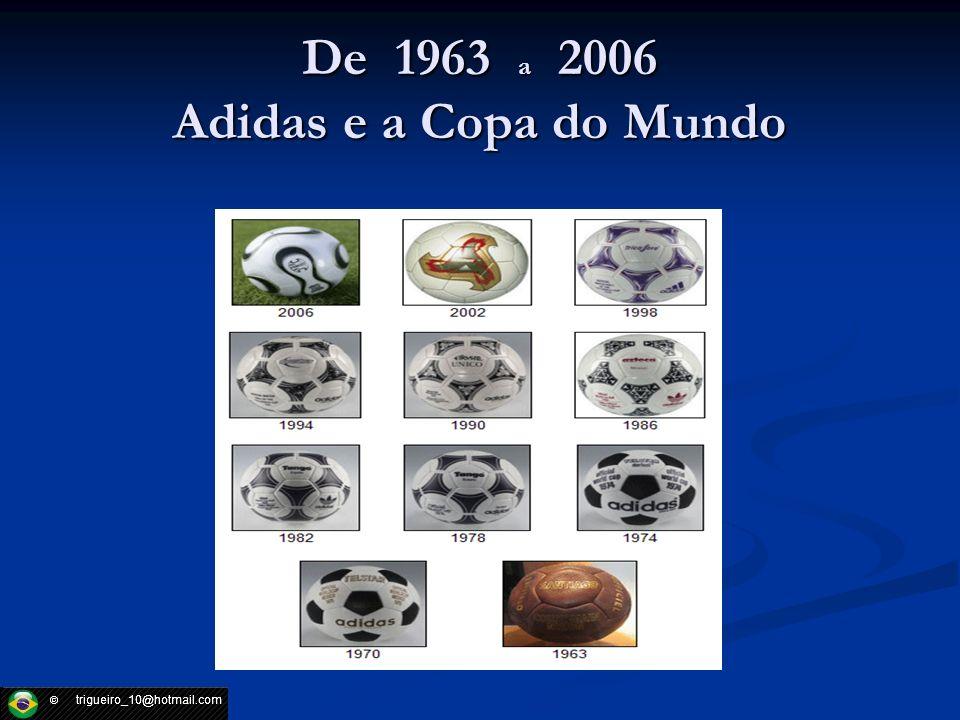 De 1963 a 2006 Adidas e a Copa do Mundo