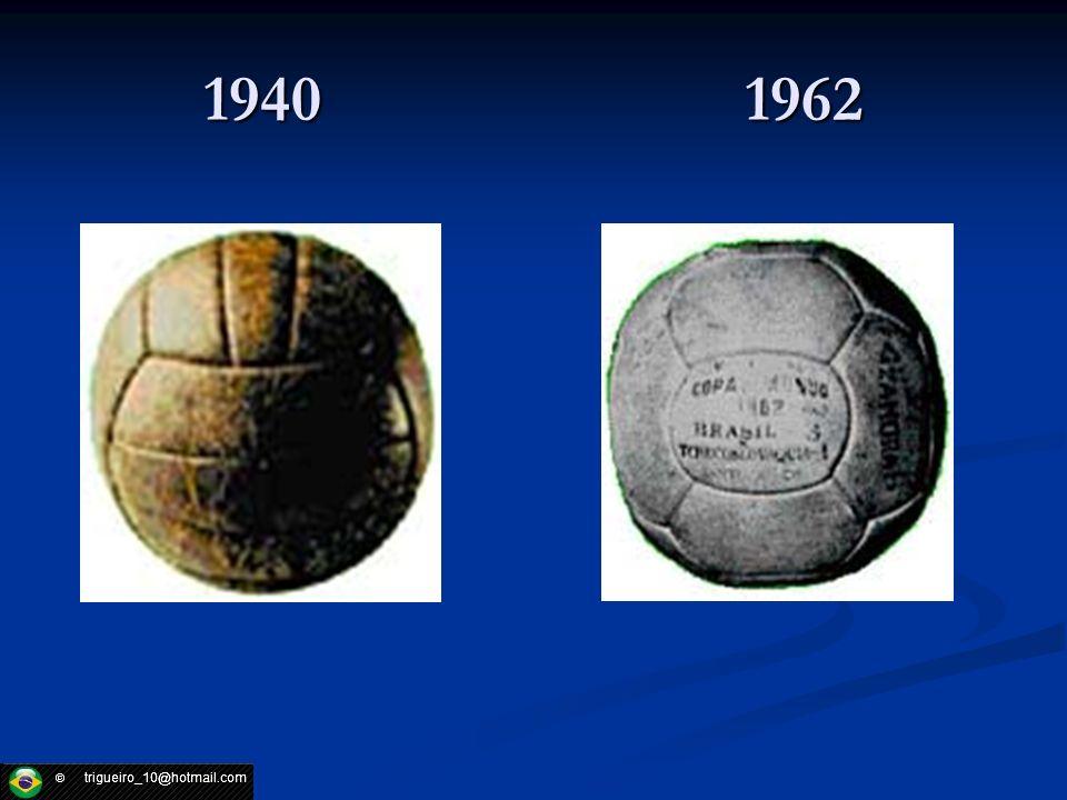 Material de uma bola Hoje em dia é feita de couro ou material similar, provida de uma câmara de ar inflada através de uma válvula embutida.
