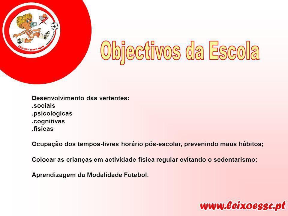 Leixões Sport Club Coordenador Técnico da Escola de Futebol 8 Treinadores da Escola Director Futebol Juvenil Director da Escola