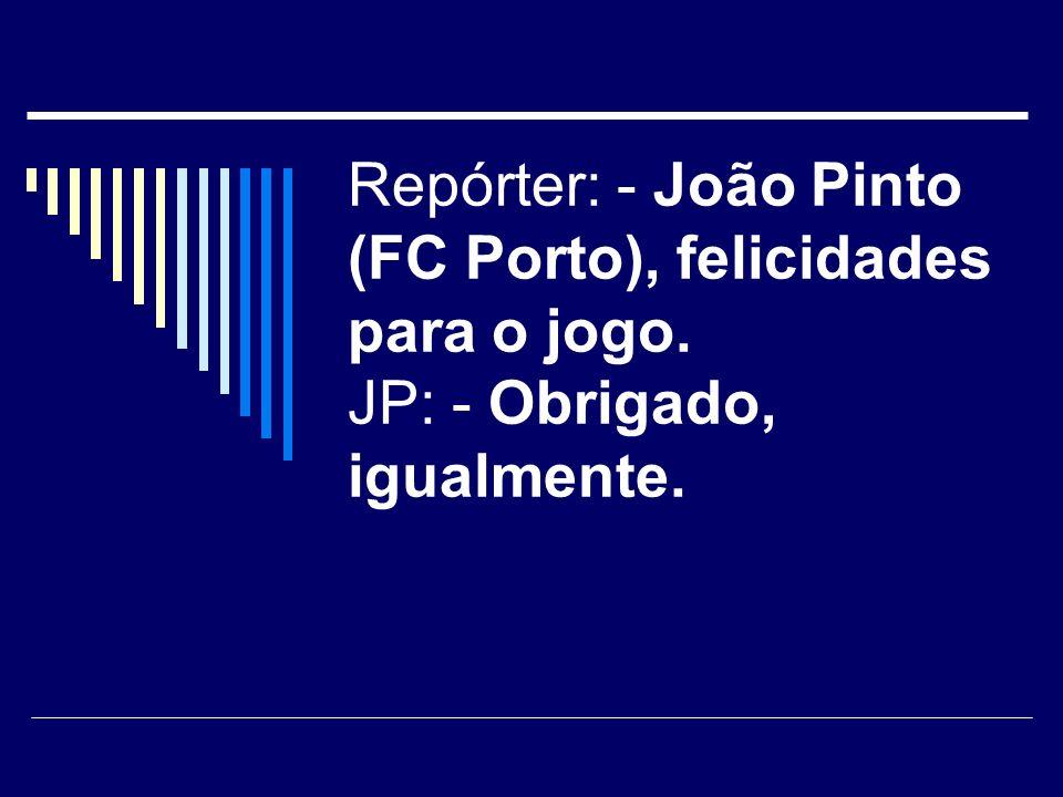 Numa síntese de noticias no canal 1, após o polemico Salgueiros - Benfica: