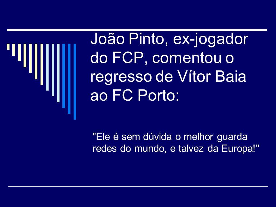 Gabriel Alves comenta uma excelente defesa de Silvino ao serviço do FC Porto: