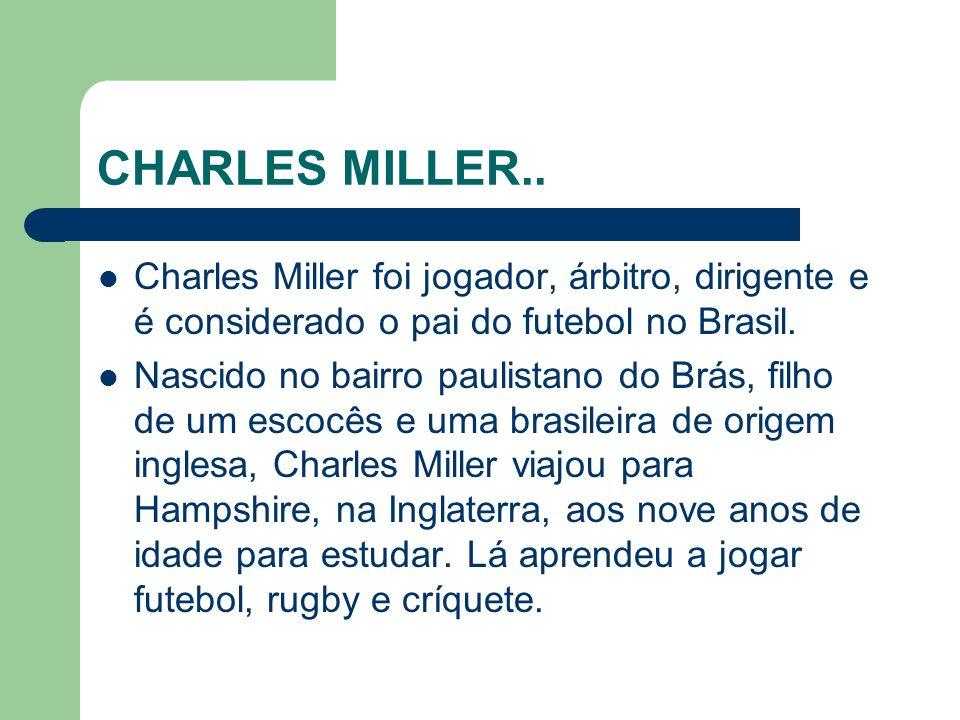 CHARLES MILLER..