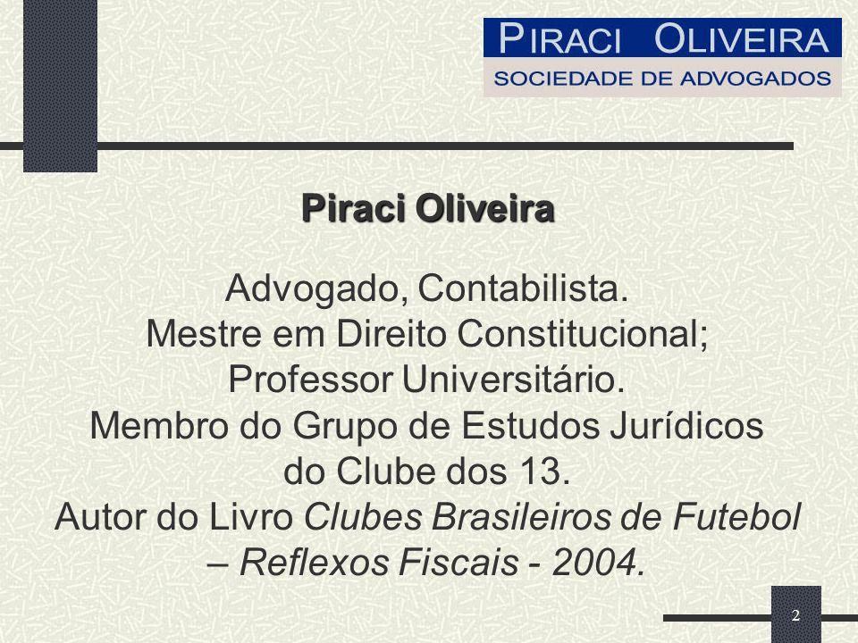 2 Piraci Oliveira Advogado, Contabilista.