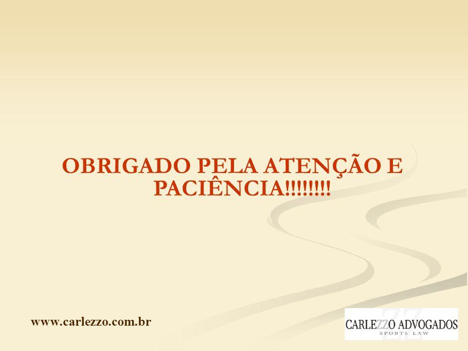 www.carlezzo.com.br OBRIGADO PELA ATENÇÃO E PACIÊNCIA!!!!!!!!