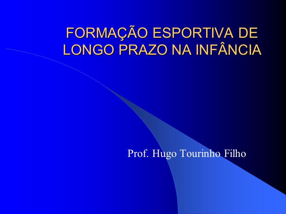 FORMAÇÃO ESPORTIVA DE LONGO PRAZO NA INFÂNCIA Prof. Hugo Tourinho Filho