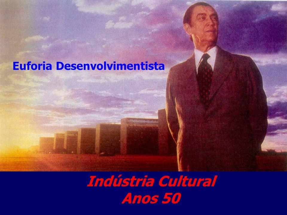 Euforia Desenvolvimentista Indústria Cultural Anos 50