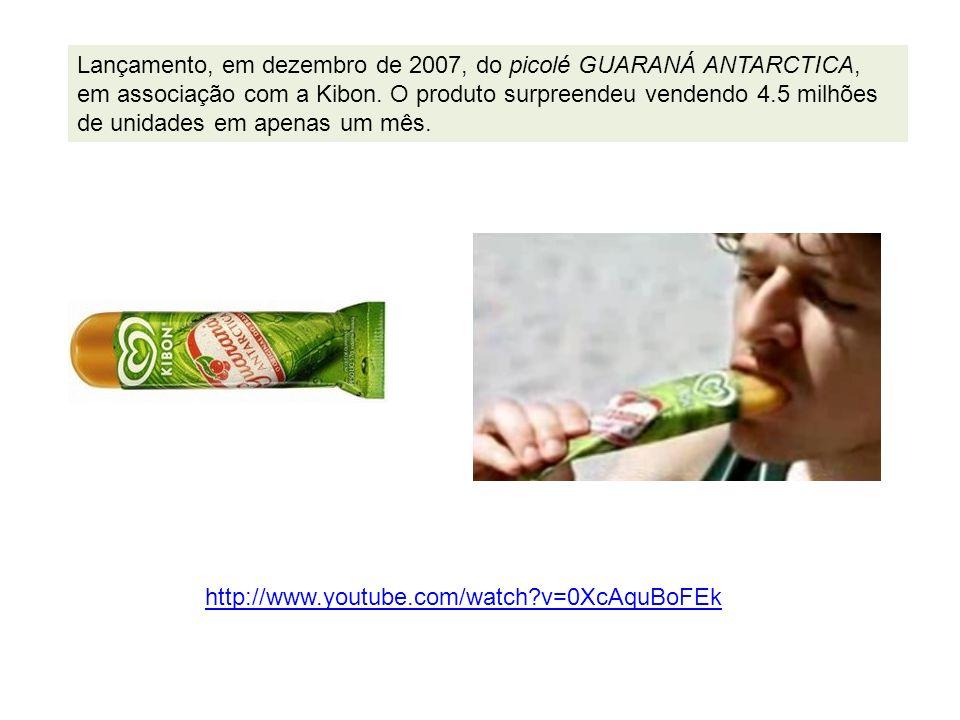 Em 2008 Lançamento do GUARAH, uma bebida que une a refrescância com a fórmula secreta do Guaraná Antarctica, além de ser levemente gaseificado e zero açúcar.