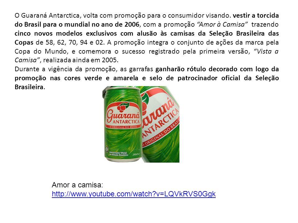 2007 Lançamento, em setembro, do GUARANÁ ANTARCTICA ICE, edição especial para o verão.