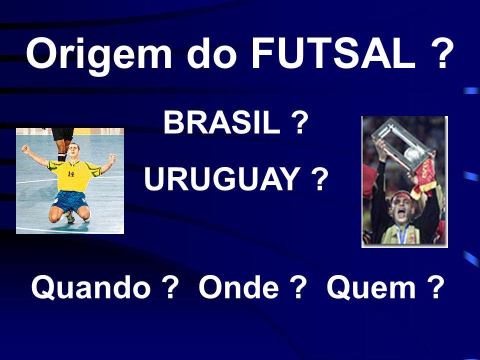 Duas Versões Brasil Grupo de pessoas introduz o Futsal em São Paulo (1930), nas competições de crianças.