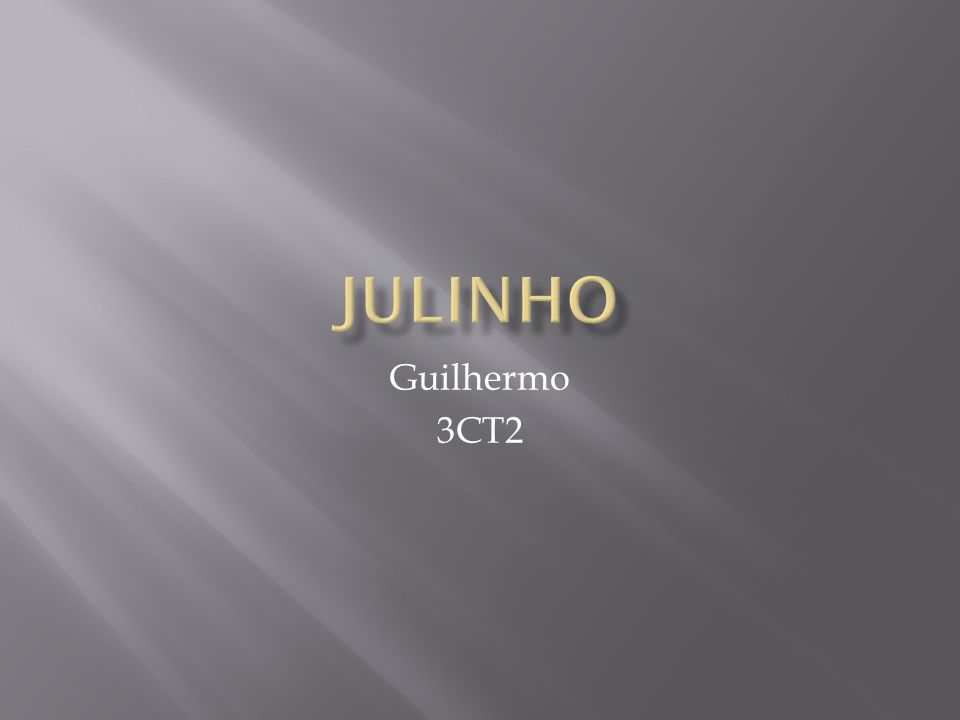 Guilhermo 3CT2