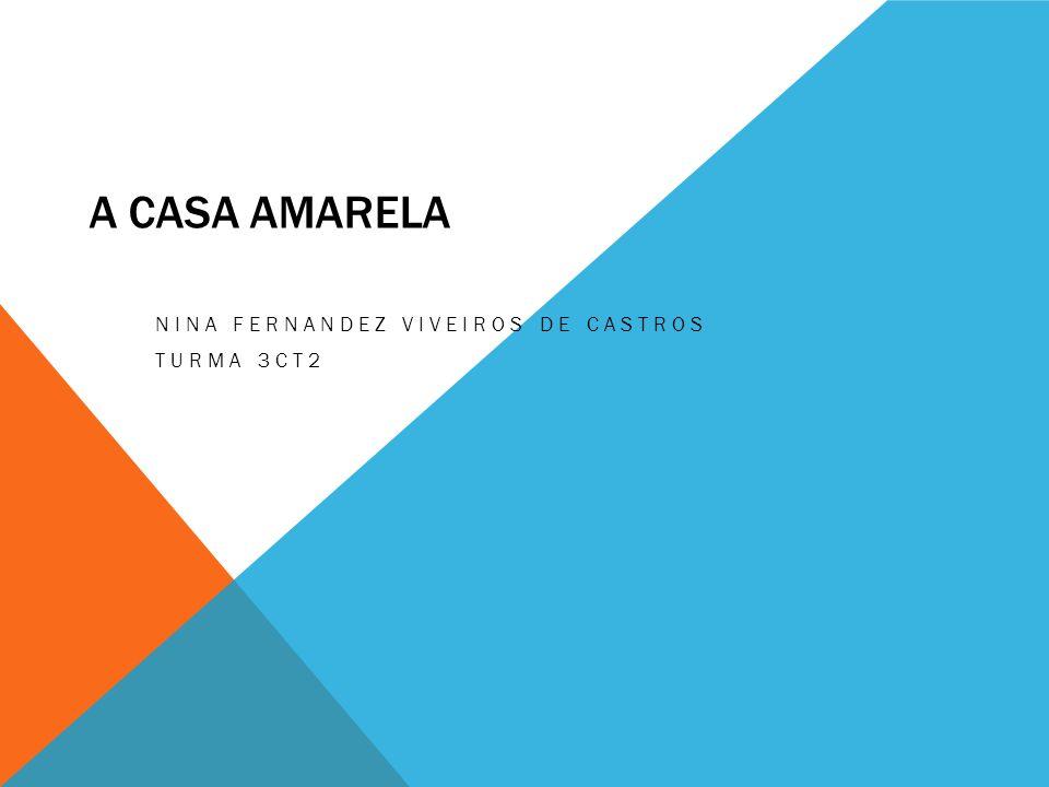 A CASA AMARELA NINA FERNANDEZ VIVEIROS DE CASTROS TURMA 3CT2