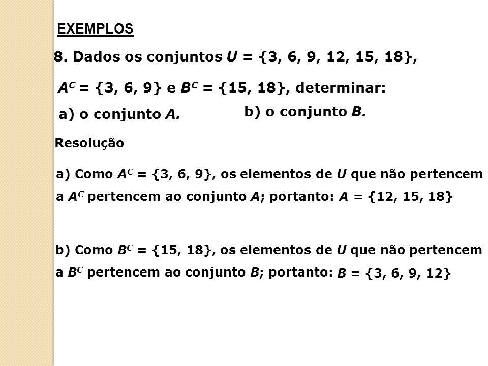 PROBLEMAS COM CONJUNTOS 9.