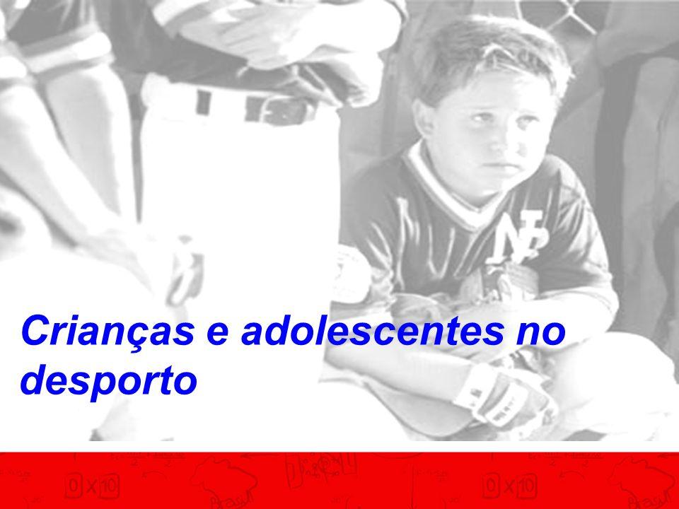 Crianças e adolescentes no desporto