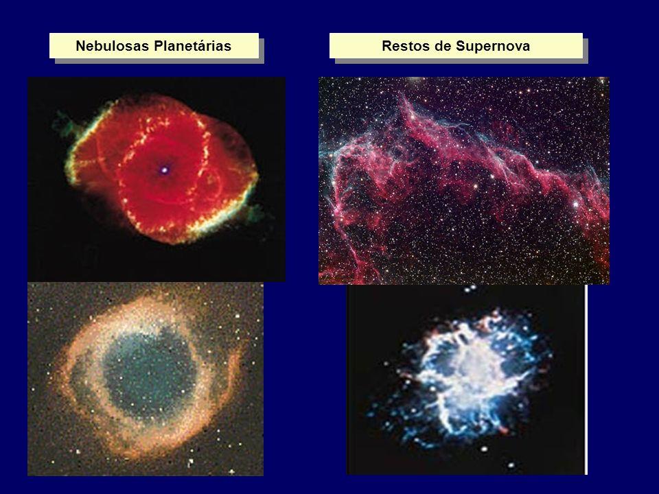 Nebulosas Planetárias Restos de Supernova
