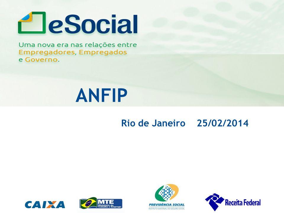 uma nova era nas relações entre Empregadores, Empregados e Governo. ANFIP Rio de Janeiro 25/02/2014