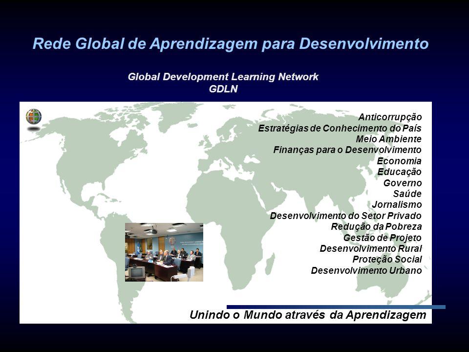 Unindo o Mundo através da Aprendizagem Anticorrupção Estratégias de Conhecimento do País Meio Ambiente Finanças para o Desenvolvimento Economia Educaç