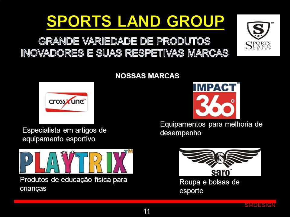 Click to edit Master subtitle style SMDESIGN NOSSAS MARCAS 11 Especialista em artigos de equipamento esportivo Equipamentos para melhoria de desempenh