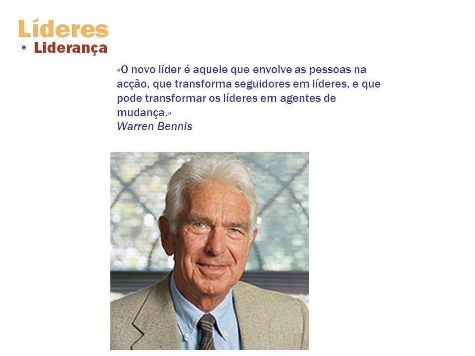 «A liderança é praticada não tanto por palavras, mas por atitudes e acções.» Harold Geneen (n.