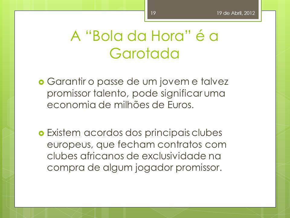 De Olho na Juventude O Futebol brasileiro, nos anos 90 e início dos anos 2000, passaram por crises financeiras e más administrações. O fato disso, é q