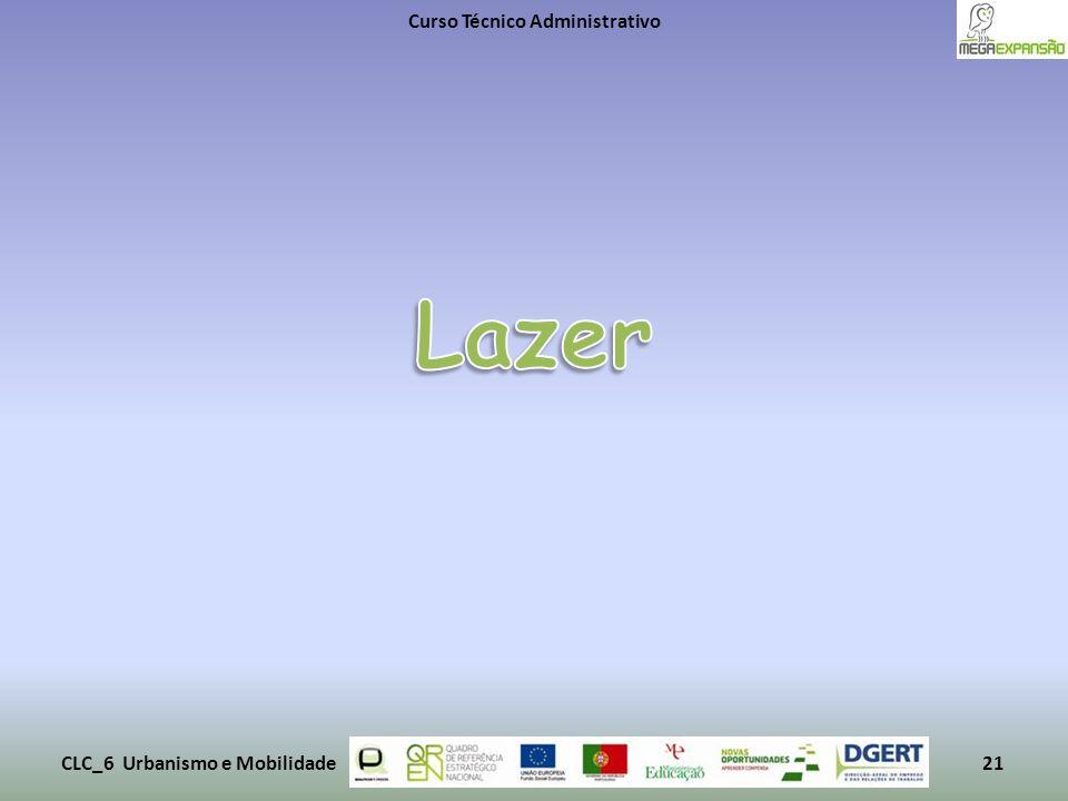 Curso Técnico Administrativo CLC_6 Urbanismo e Mobilidade21