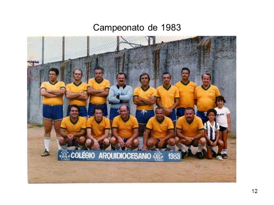 12 Campeonato de 1983