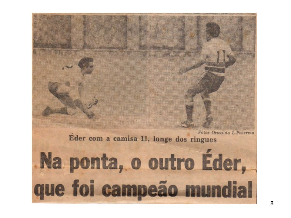 69 7.O atleta que marcou mais gols numa única partida do Torneio Consolação.