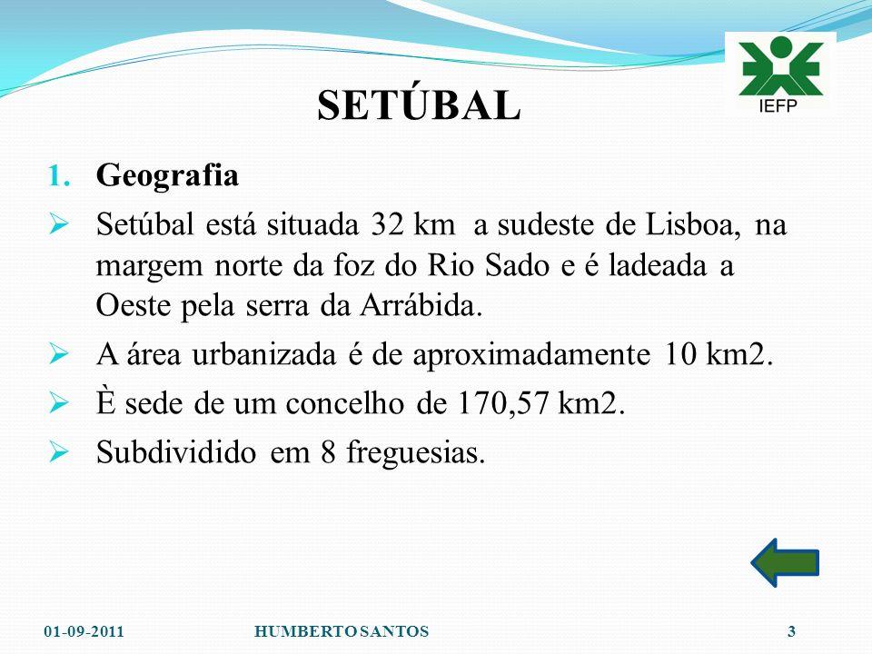 SETÚBAL 1.Geografia Geografia 2. Figuras ilustres Figuras ilustres 3.