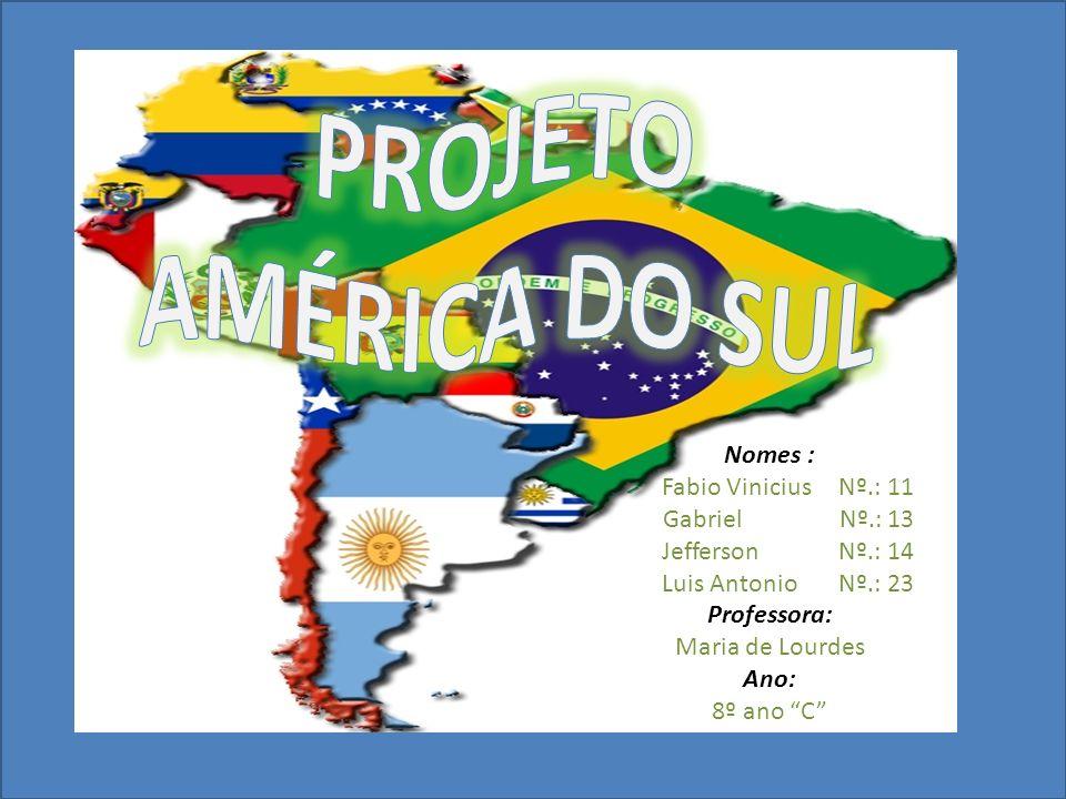 Nomes : Fabio Vinicius Nº.: 11 Gabriel Nº.: 13 Jefferson Nº.: 14 Luis Antonio Nº.: 23 Professora: Maria de Lourdes Ano: 8º ano C