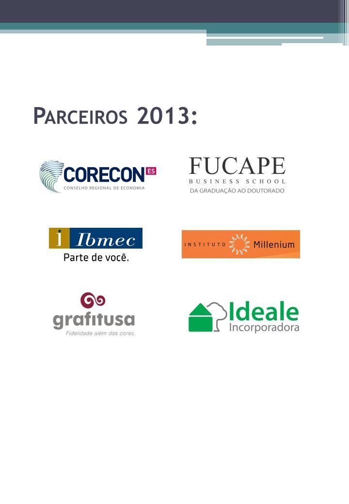 P ARCEIROS 2013: