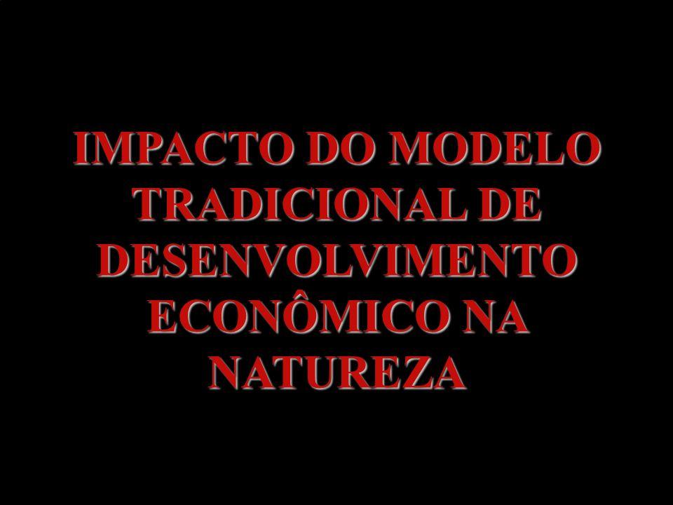 IMPACTO DO MODELO TRADICIONAL DE DESENVOLVIMENTO ECONÔMICO NA NATUREZA