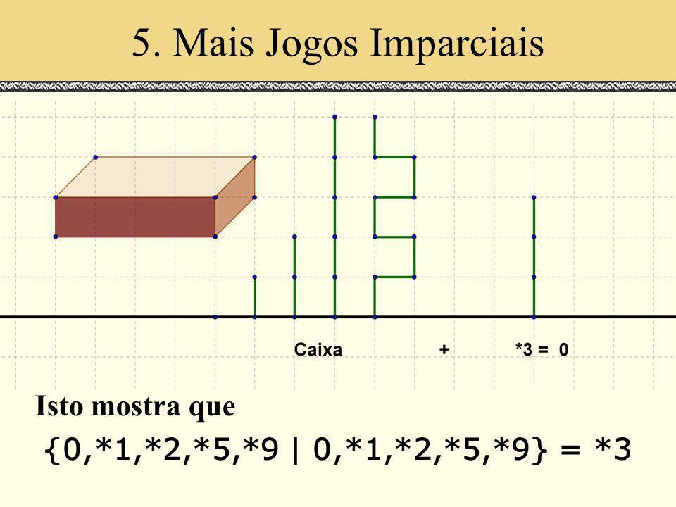 Isto mostra que {0,*1,*2,*5,*9 | 0,*1,*2,*5,*9} = *3