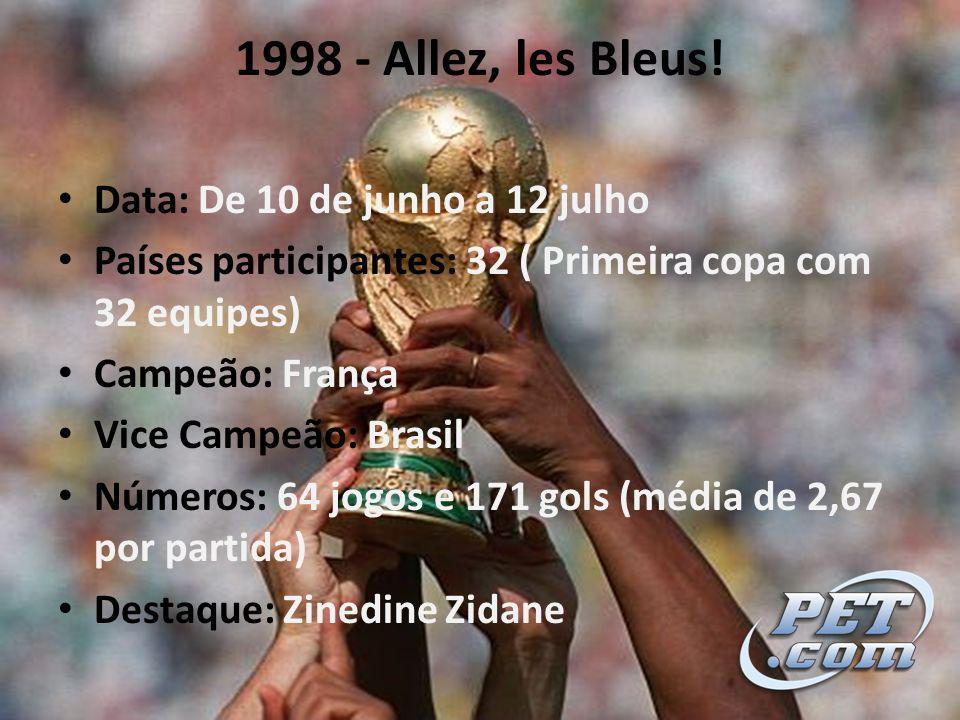 1998 - Allez, les Bleus.