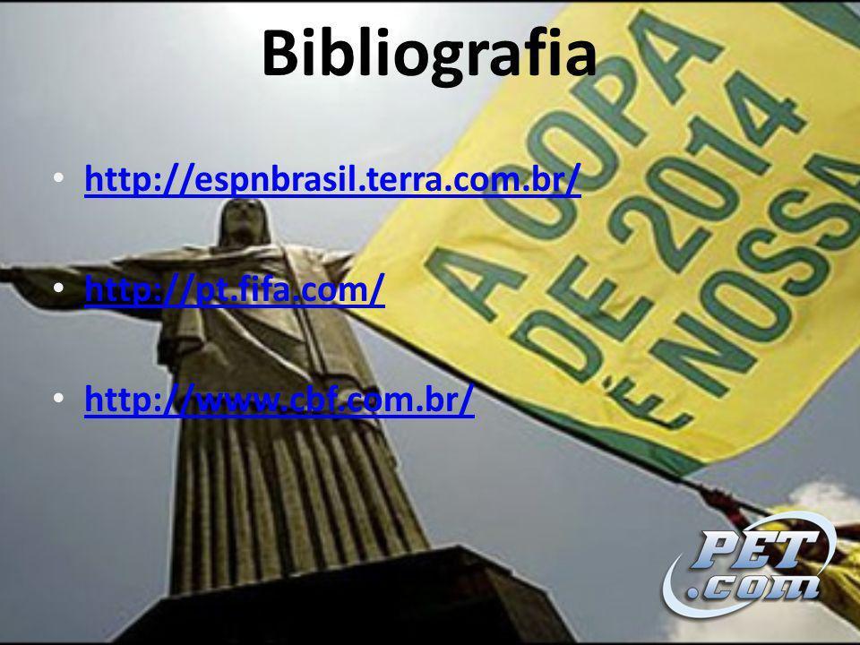 Bibliografia http://espnbrasil.terra.com.br/ http://pt.fifa.com/ http://www.cbf.com.br/