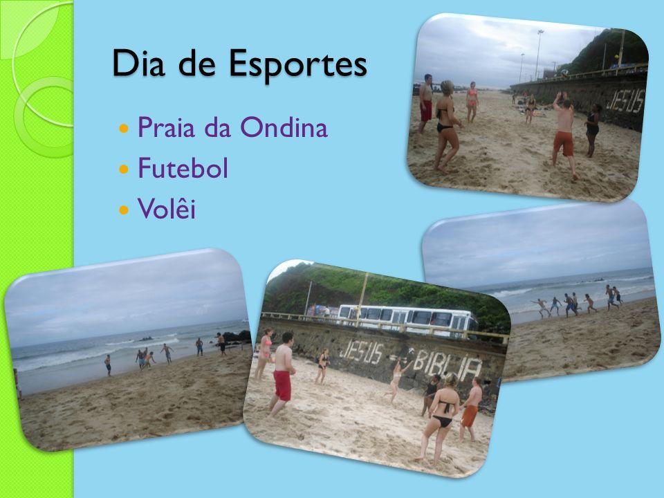 Dia de Esportes Praia da Ondina Futebol Volêi