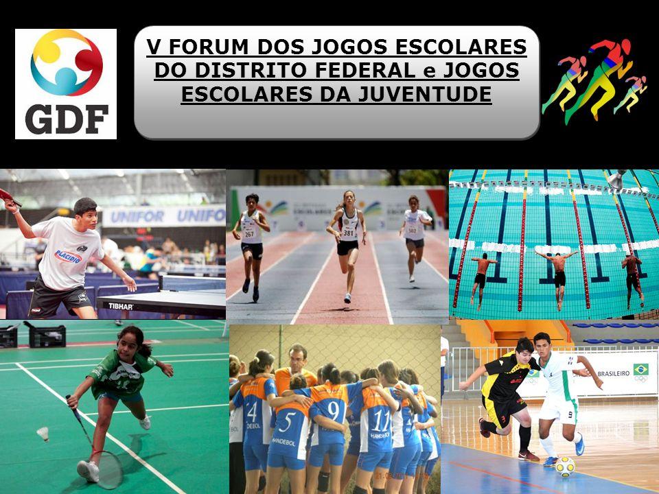Alterações no Regulamento Geral JEDF Introdução das Modalidades nos JEDF 2014: Karatê ; Capoeira; Badminton (15 a 17 anos).