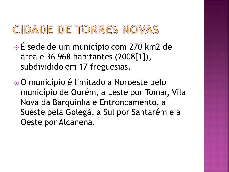 É sede de um município com 270 km2 de área e 36 968 habitantes (2008[1]), subdividido em 17 freguesias. O município é limitado a Noroeste pelo municíp