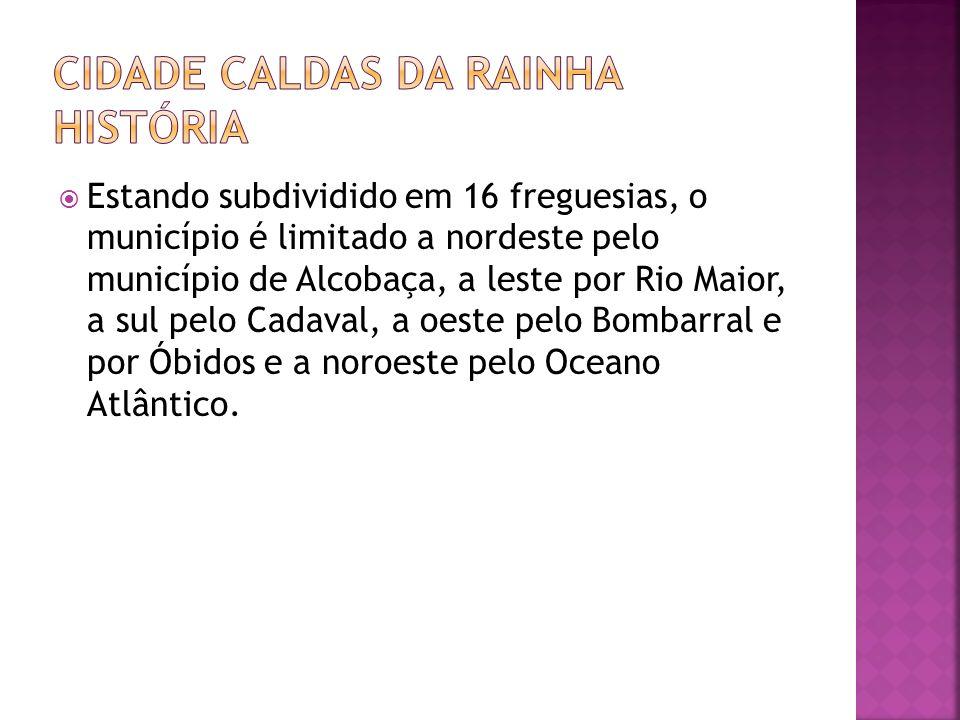 Estando subdividido em 16 freguesias, o município é limitado a nordeste pelo município de Alcobaça, a leste por Rio Maior, a sul pelo Cadaval, a oeste