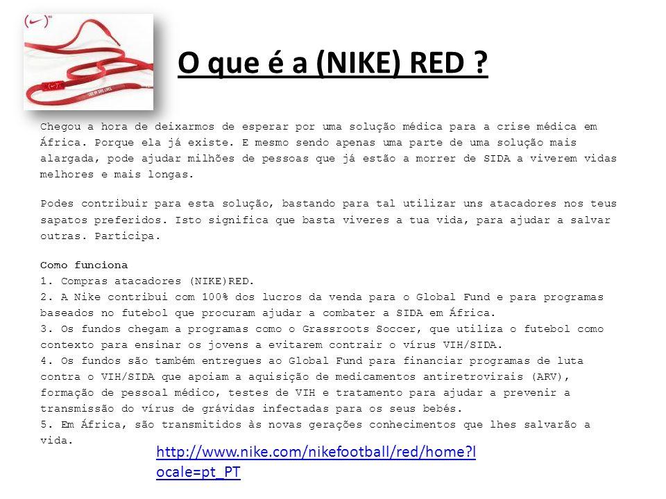 O que é a (NIKE) RED .
