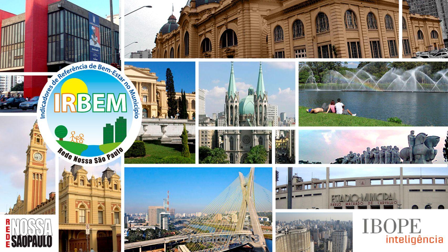 2 O objetivo do IRBEM é formar um conjunto de indicadores para que a própria sociedade civil, governos, empresas e instituições conheçam as condições e os modos de vida dos cidadãos, a fim de que as ações públicas e privadas tenham como foco principal o bem-estar das pessoas.
