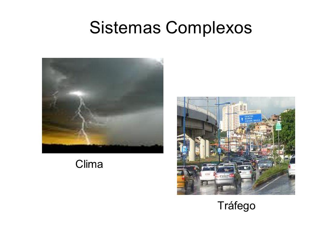 Sistemas Complexos Tráfego Clima