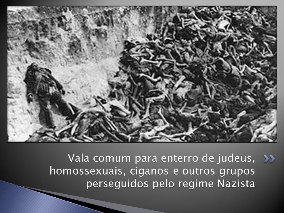 Vala comum para enterro de judeus, homossexuais, ciganos e outros grupos perseguidos pelo regime Nazista