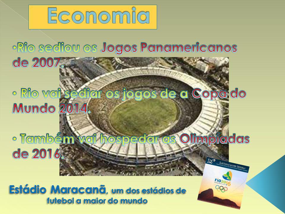 Estádio Maracanã, um dos estádios de futebol a maior do mundo