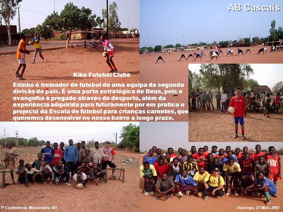 Kiko Futebol Clube Edinho é treinador de futebol de uma equipa da segunda divisão do país. É uma porta estratégica de Deus, pois o evangelho é pregado